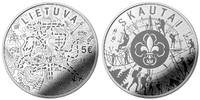 "Lietuva 5 euro 2019 ""Scouts"" Ag PROOF"